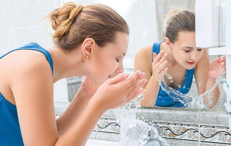 Hidratação em dia