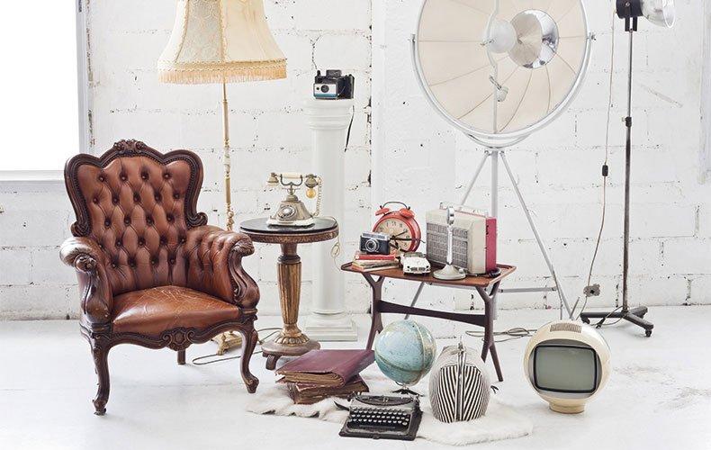 O vintage na decoração contemporânea