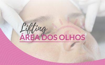 Tratamento power para área dos olhos com efeito tensor e clareador