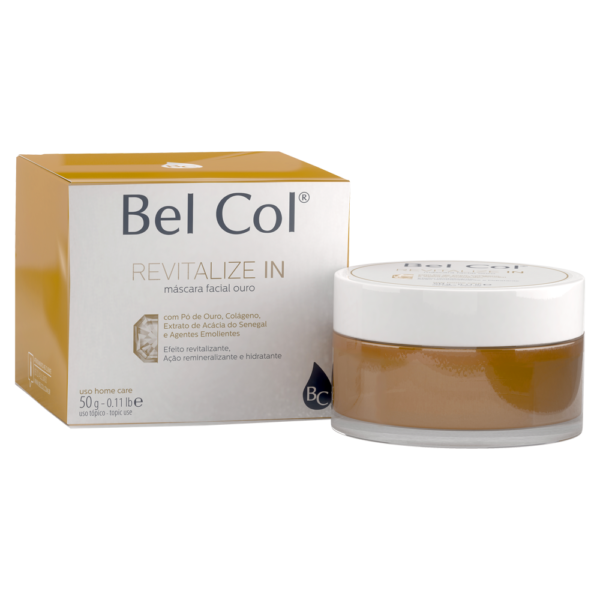 Revitalize IN - máscara ouro - 50 g 2