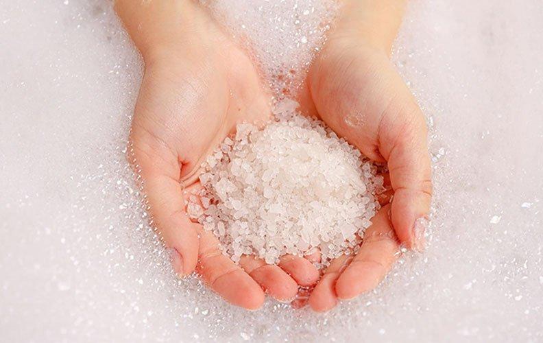 A ação estética do Sal na pele para a saúde e beleza
