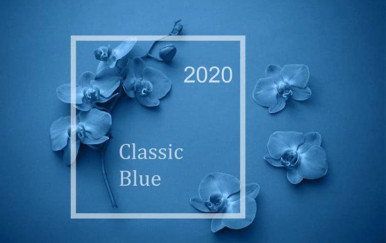 Cor do ano 2020: Classic Blue