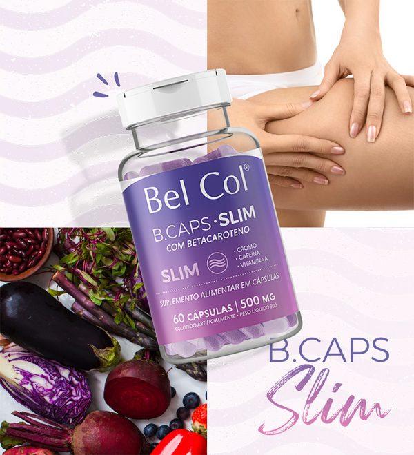 B.Caps Slim - 60 Cápsulas 2