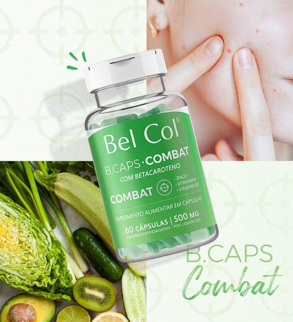 B.Caps Combat - 60 Cápsulas 2