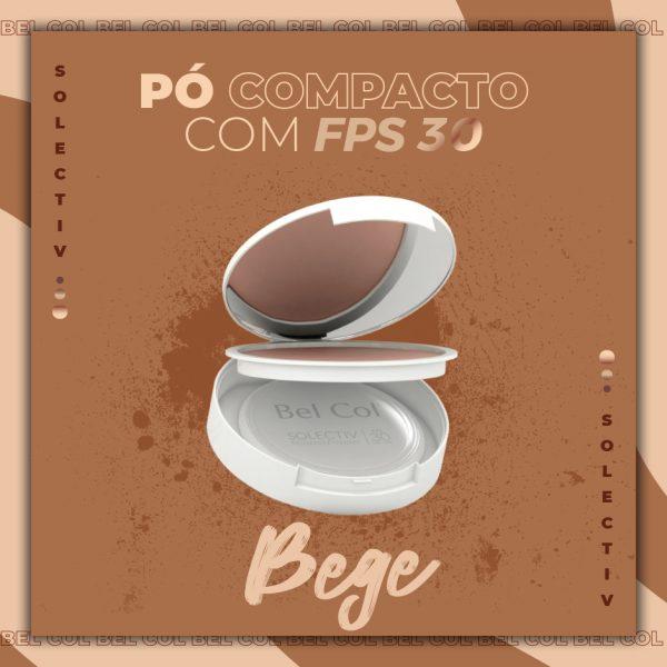 Solectiv Mineral Powder Bege - Pó Compacto FPS30 -12 g 2