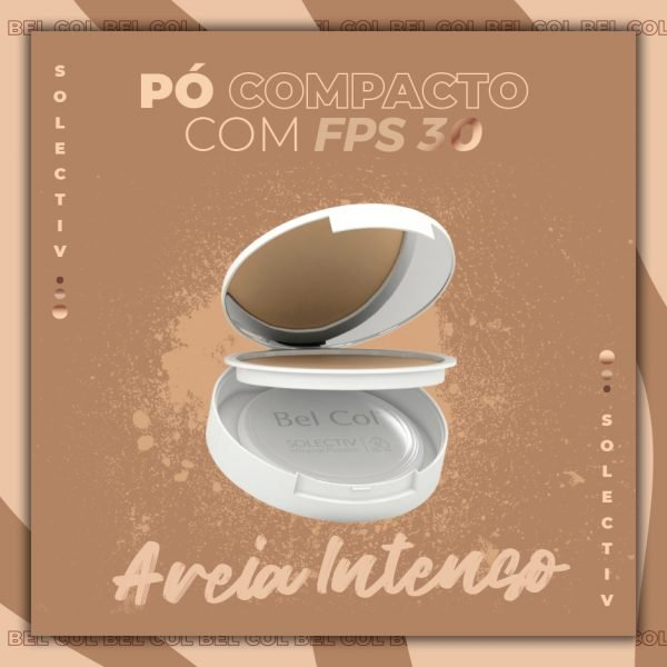 Solectiv Mineral Powder Areia Intenso - Pó Compacto FPS30 -12 g 2
