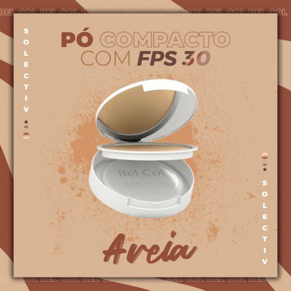 Solectiv Mineral Powder Areia - Pó Compacto FPS30 -12 g 2