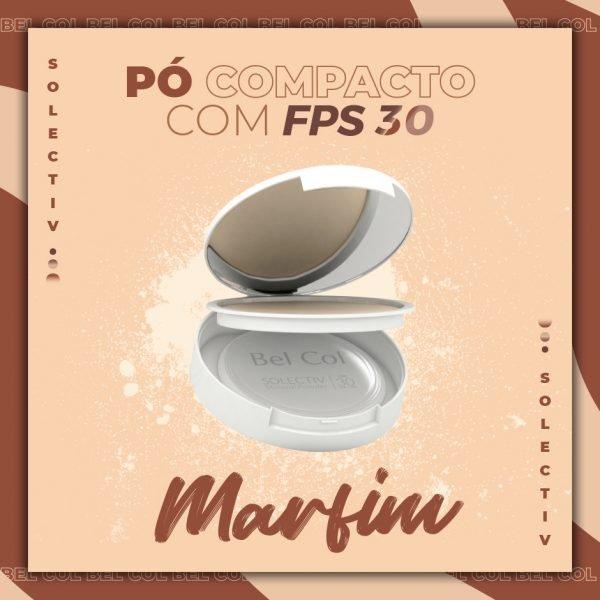 Solectiv Mineral Powder Marfim- Pó Compacto FPS30 -12 g 2