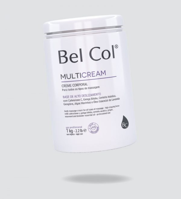 Multicream - Creme de Massagem Corporal - 1kg 1