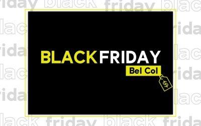 Black Friday Bel Col Cosméticos!