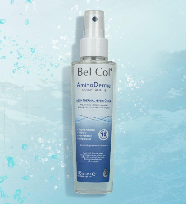 Spray Facial AminoDerme – Água Thermal Hipertônica - 145ml 2