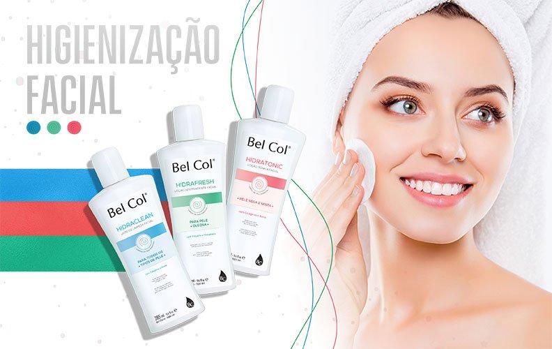 Higienização facial: Listamos nossos produtos para cada tipo de pele