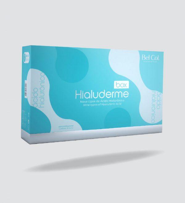 Hialuderme - Box Completo Profissional com Ácido Hialurônico 1